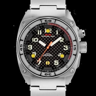 Армейские часы с фонариком MTM SILVER FALCON