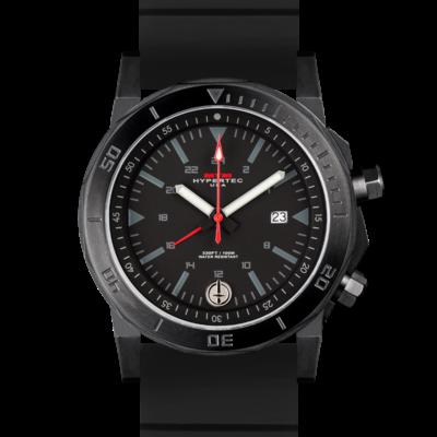 Крутые полностью черные часы MTM BLACK HYPERTEC H-61 (BLACK)