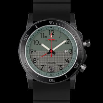 Американские часы в стиле милитари с двойным безелем MTM BLACK HYPERTEC H-61 (GREEN II)
