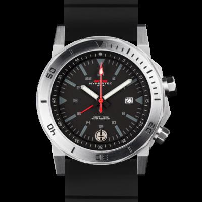 Крутые стальные мужские часы MTM SILVER HYPERTEC H-61 (BLACK)
