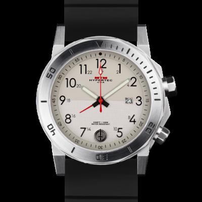 Лучшие стальные мужские часы с белым циферблатом MTM SILVER HYPERTEC H-61 (TAN II)