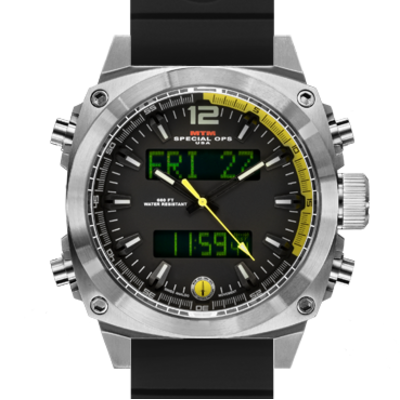 Часы для летчиков MTM SILVER AIR STRYK