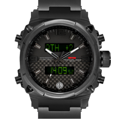 Часы летчиков MTM BLACK AIR STRYK II - CC