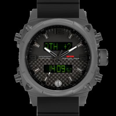 Титановые часы MTM GRAY AIR STRYK II - CC