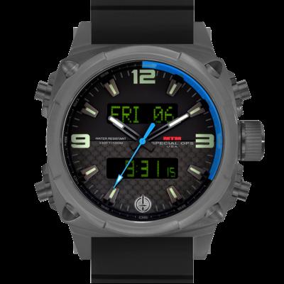 Подарок для авиатора часы MTM GRAY AIR STRYK II - CB