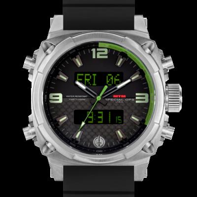 Часы с GMT 24 MTM SILVER AIR STRYK II - CG