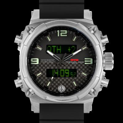 Лучшие часы с GMT 24  MTM SILVER AIR STRYK II - CL