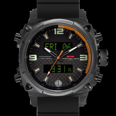 Элитные часы летчиков MTM BLACK AIR STRYK II - CO