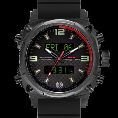 Элитные часы авиаторов MTM BLACK AIR STRYK II - CR