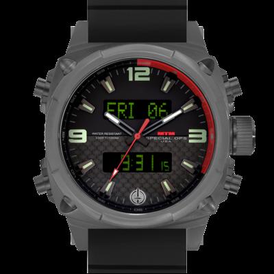 Американские титановые часы MTM GRAY AIR STRYK II - CR