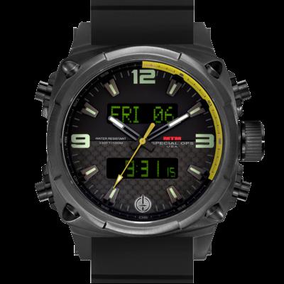 Подарок для летчика часы MTM BLACK AIR STRYK II - CY