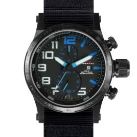 BLACK HYPERTEC CHRONO II (BLUE)