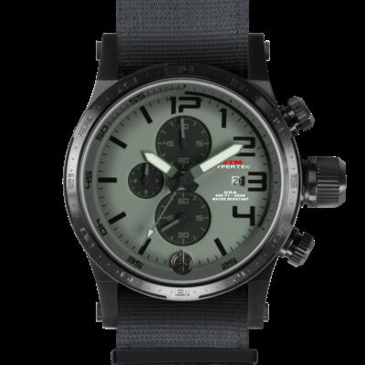 Лучшие американские армейские часы MTM BLACK HYPERTEC CHRONO III (GRAY)