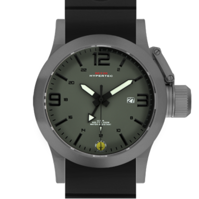 GRAY HYPERTEC GREEN-BLACK DIAL