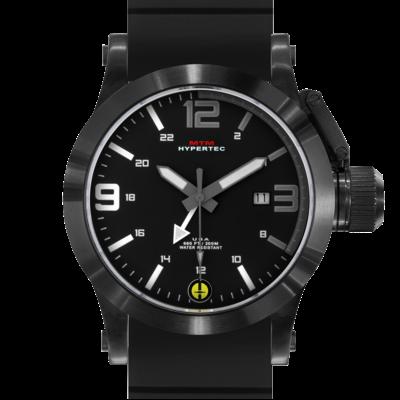 Тактические часы MTM BLACK HYPERTEC GRAY-WHITE DIAL
