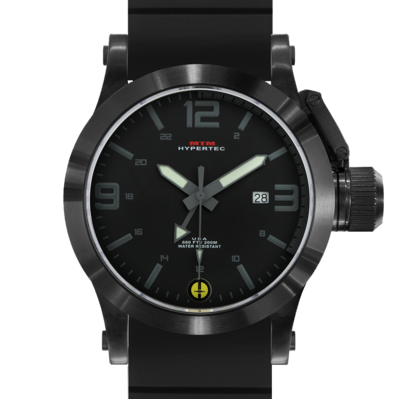BLACK HYPERTEC GRAY DIAL