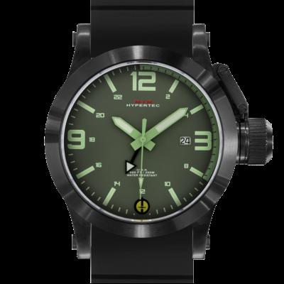 Лучшие армейские часы MTM BLACK HYPERTEC GREEN-LUMI DIAL