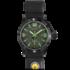 Часы  BLACK HYPERTEC GREEN-LUMI DIAL