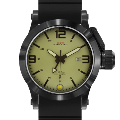 BLACK HYPERTEC TAN-BLACK DIAL