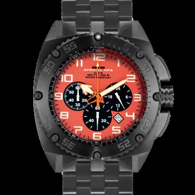 Противоударные часы MTM BLACK PATRIOT (ORANGE) с хронографом