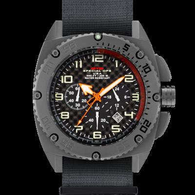 Тактические часы MTM GREY PATRIOT с хронографом