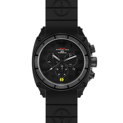 Военные часы MTM BLACK PREDATOR II (BCB-01) R2 с хронографом