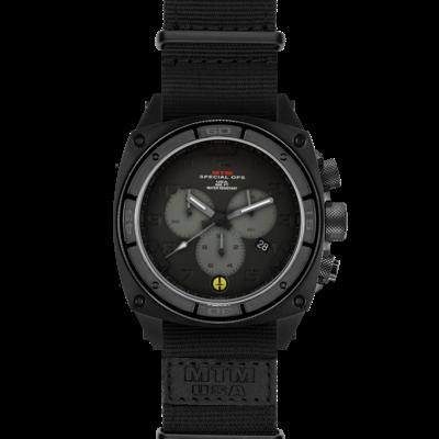 Военные часы MTM BLACK PREDATOR II (BGG-01) NB с хронографом