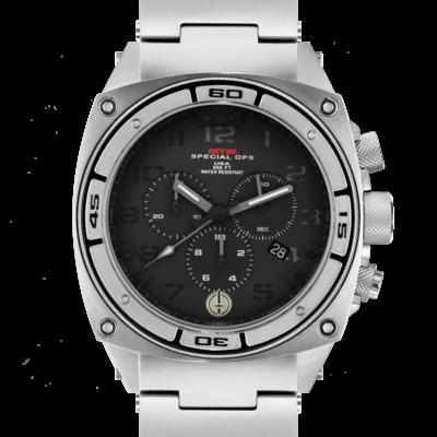 Тактические часы с хронографом MTM SILVER PREDATOR II (BGR-02)