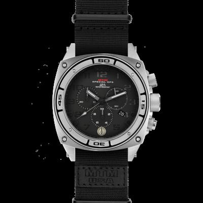 Военные часы MTM SILVER PREDATOR II (BGR-02) NB с хронографом
