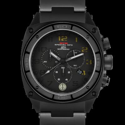 Армейские часы MTM BLACK PREDATOR II (BO-02) с хронографом