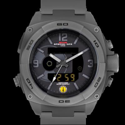 Крупные мужские часы MTM GRAY RAD