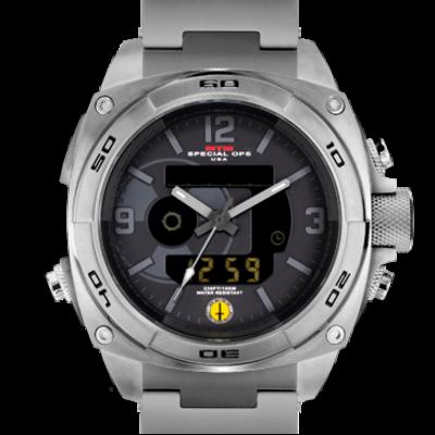 Массивные мужские часы MTM SILVER RAD