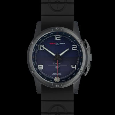 Брутальные смарт часы MTM BLACK STATUS (BLUE)
