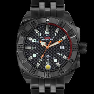 Крутые дайверские часы с тритиевыми метками MTM BLACK WARRIOR